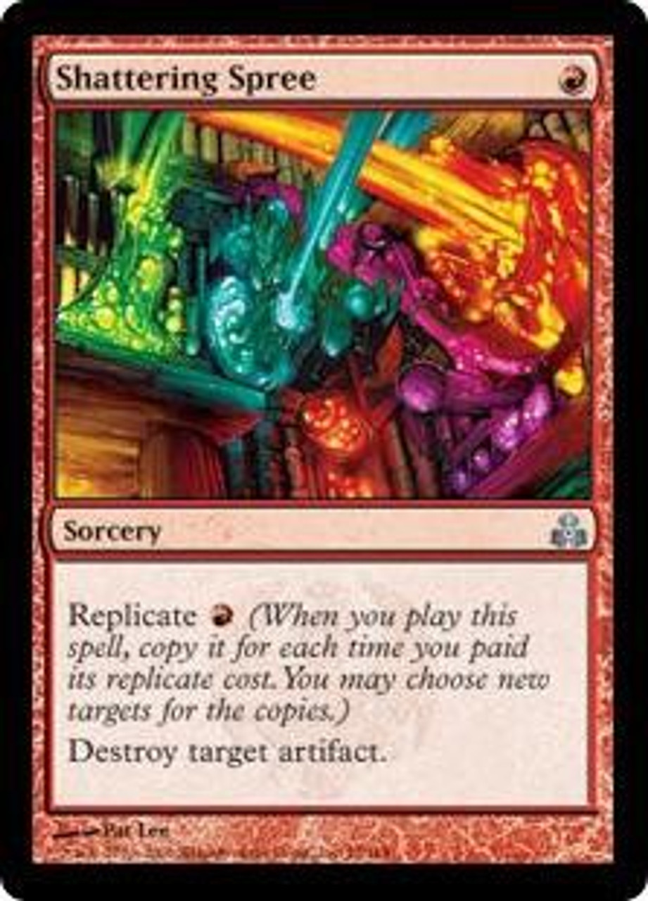 Shattering Spree Foil Light Played MTG Guildpact Magic