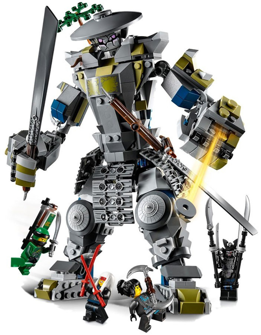 LEGO Ninjago Oni Titan Set 70658 - ToyWiz