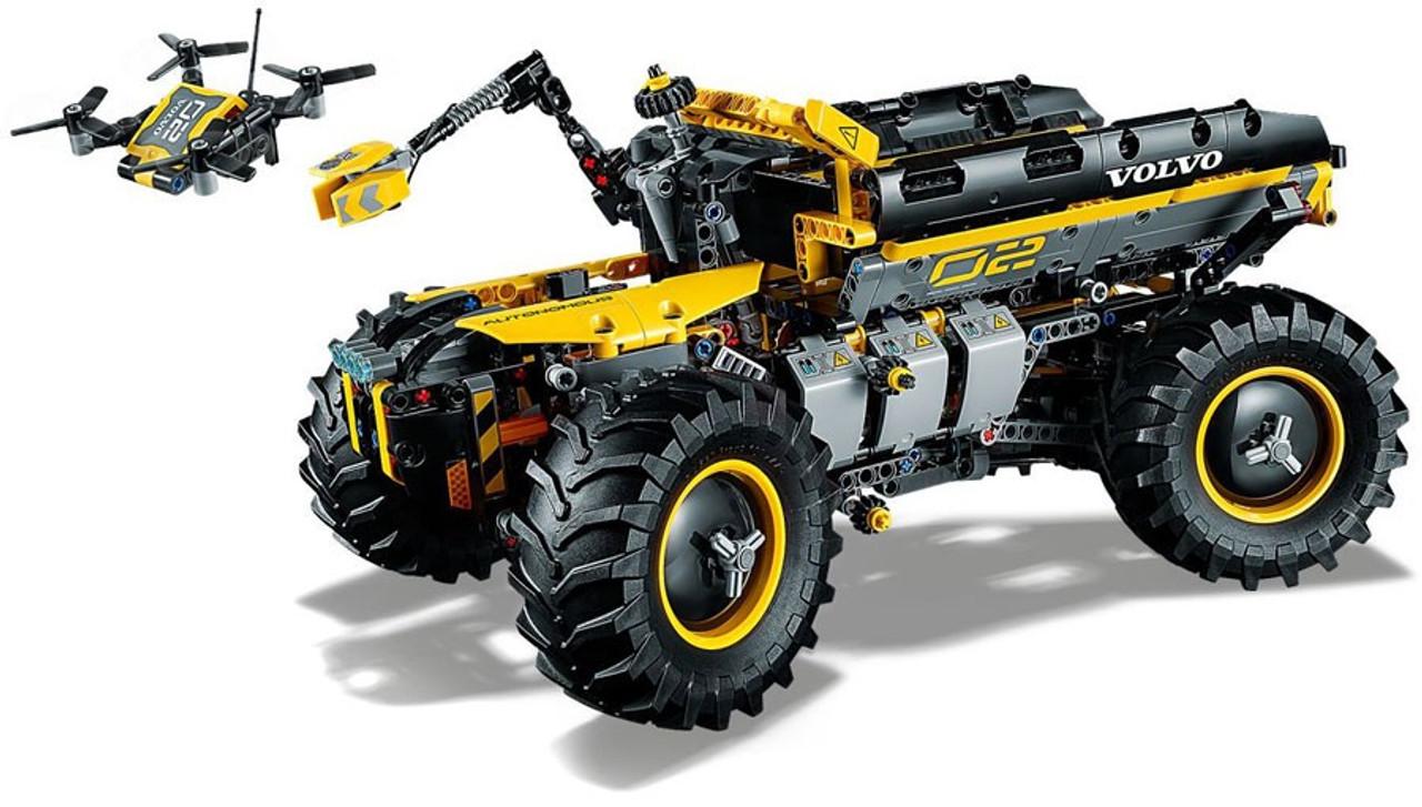 Lego Technic Volvo Concept Wheel Loader Zeux Set 42081 Toywiz