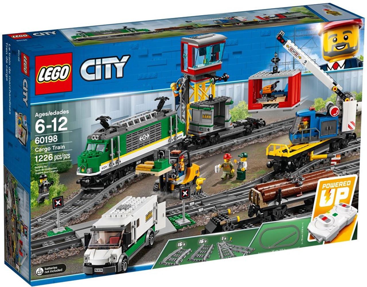 LEGO City Cargo Train Set 60198 - ToyWiz