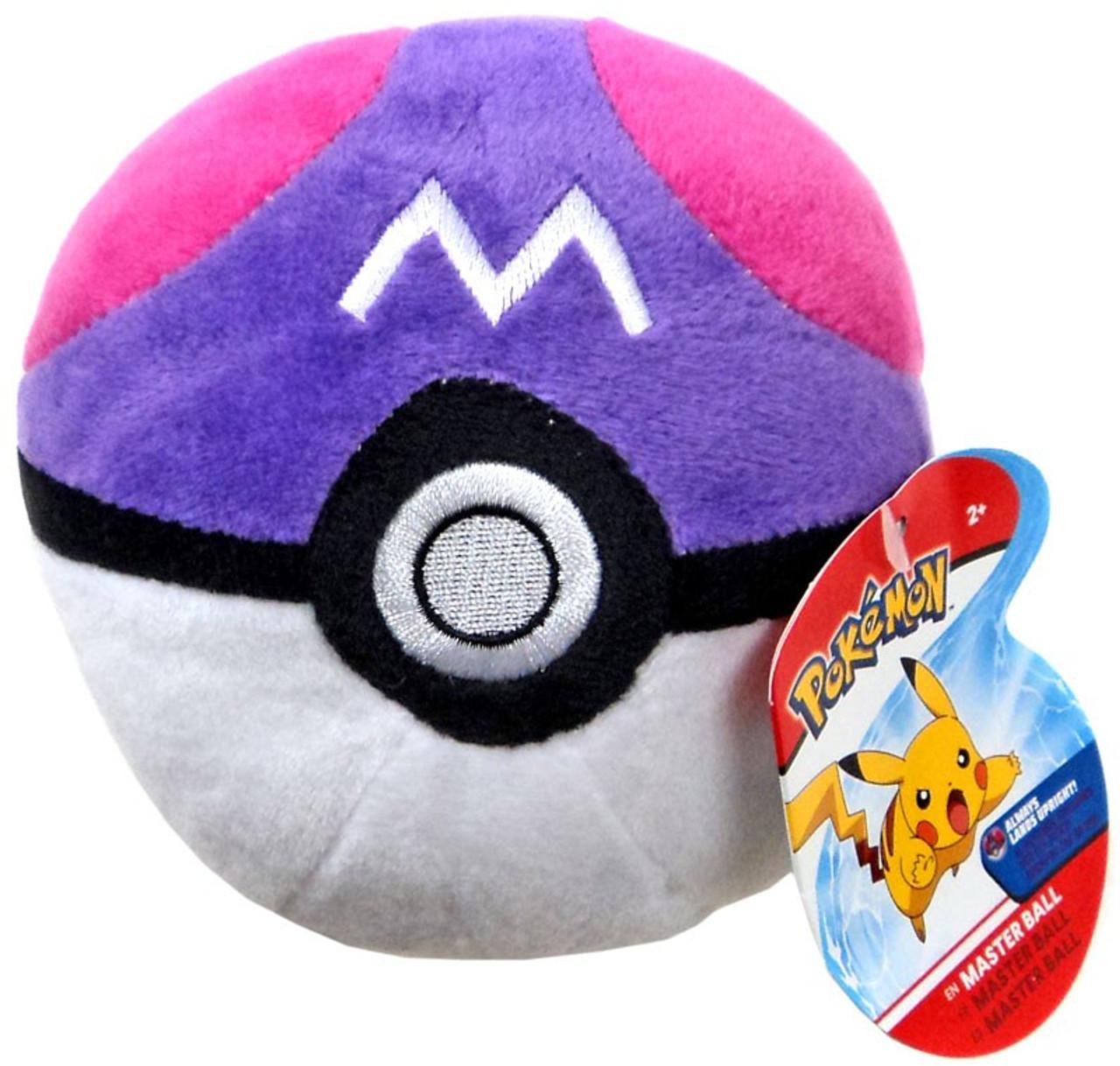 Pokemon Pokeball Master Ball 5 Plush Wicked Cool Toys Toywiz