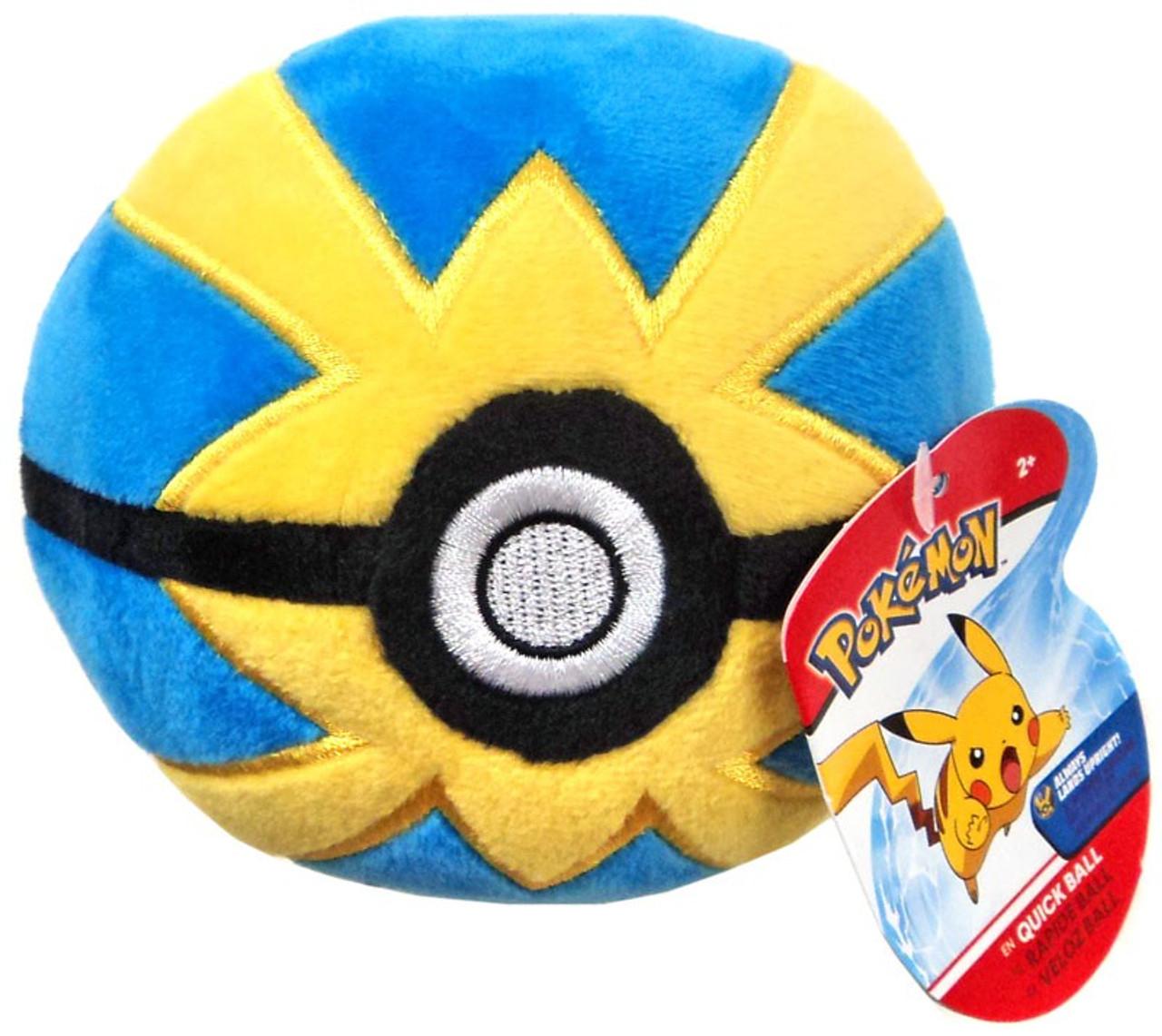 Pokemon Pokeball Quick Ball 5 Plush Wicked Cool Toys Toywiz