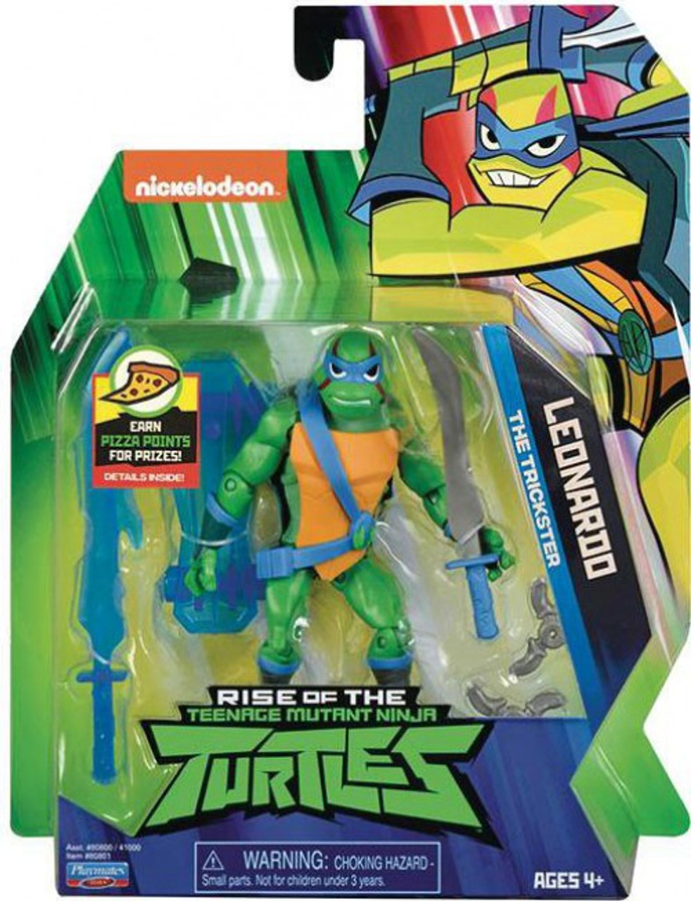 RISE OF THE Teenage Mutant Ninja Turtles TMNT LEONARDO Action Figure
