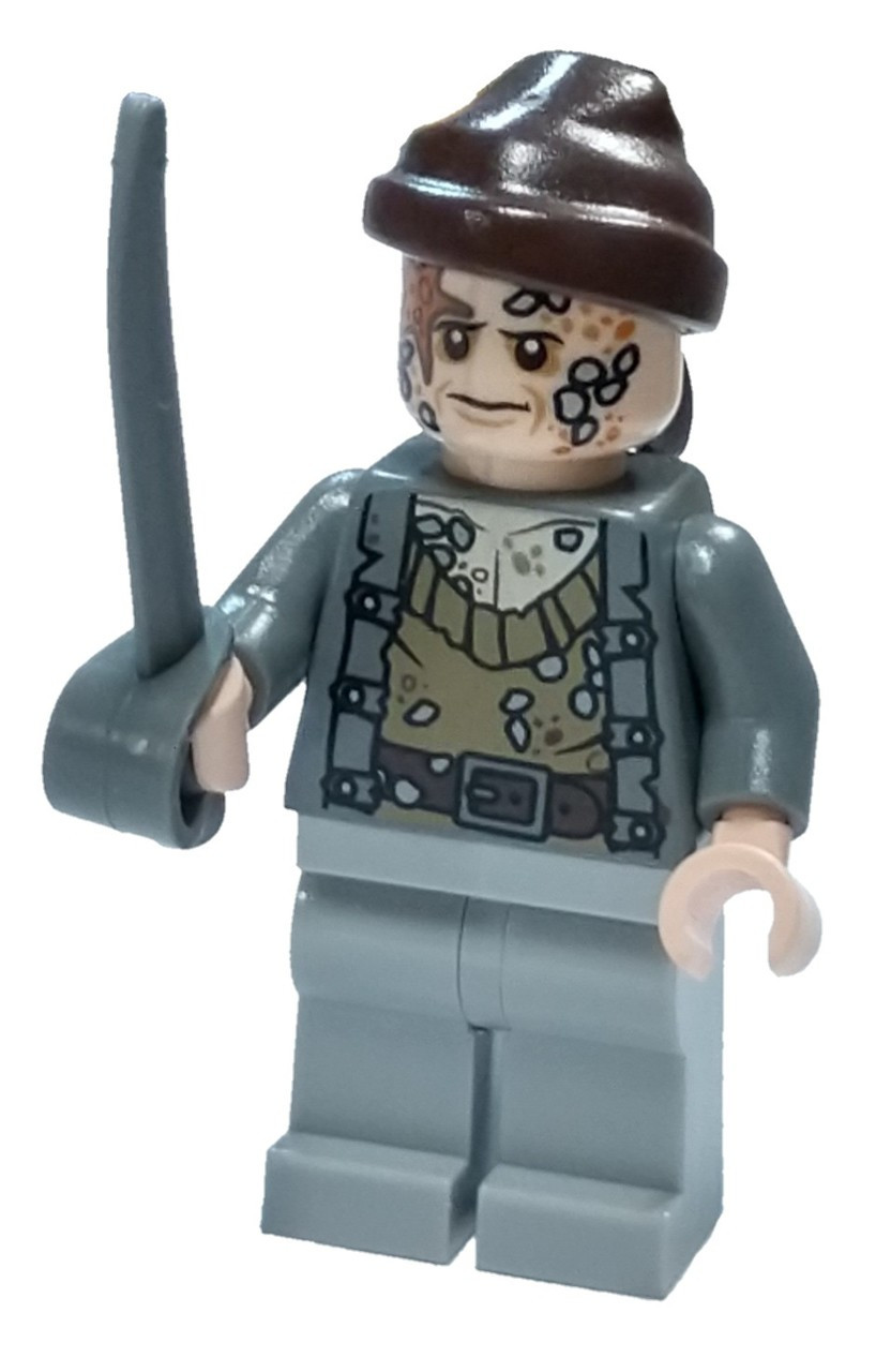 LEGO Pirates of the Caribbean Bootstrap Bill Minifigure [Loose]