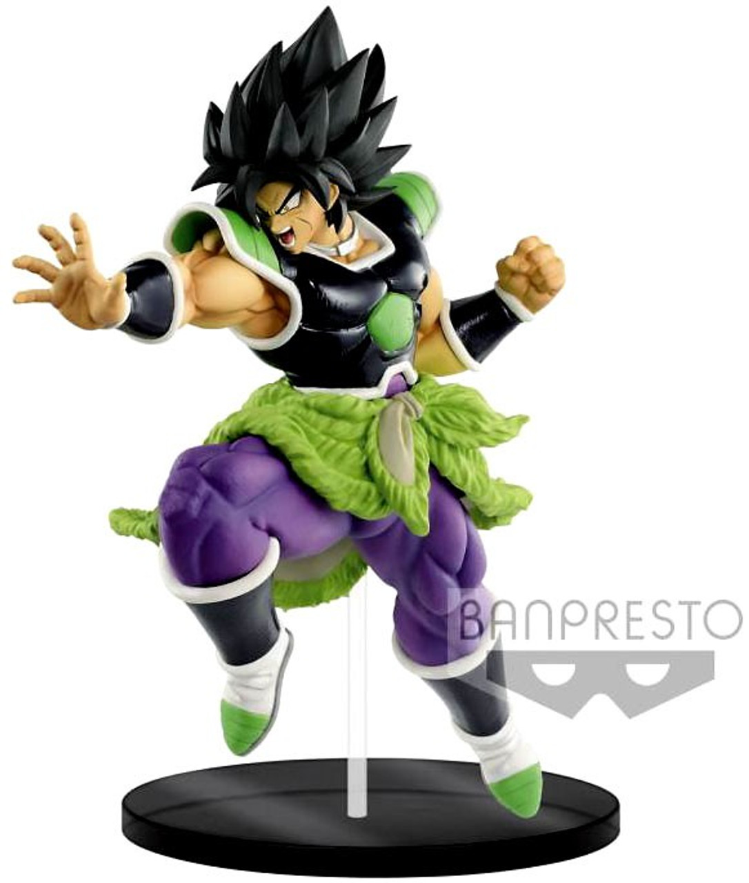 Dragon Ball Super Broly Movie Ultimate Soldiers Broly 9 Inch Collectible Pvc Figure 01 Rage Mode
