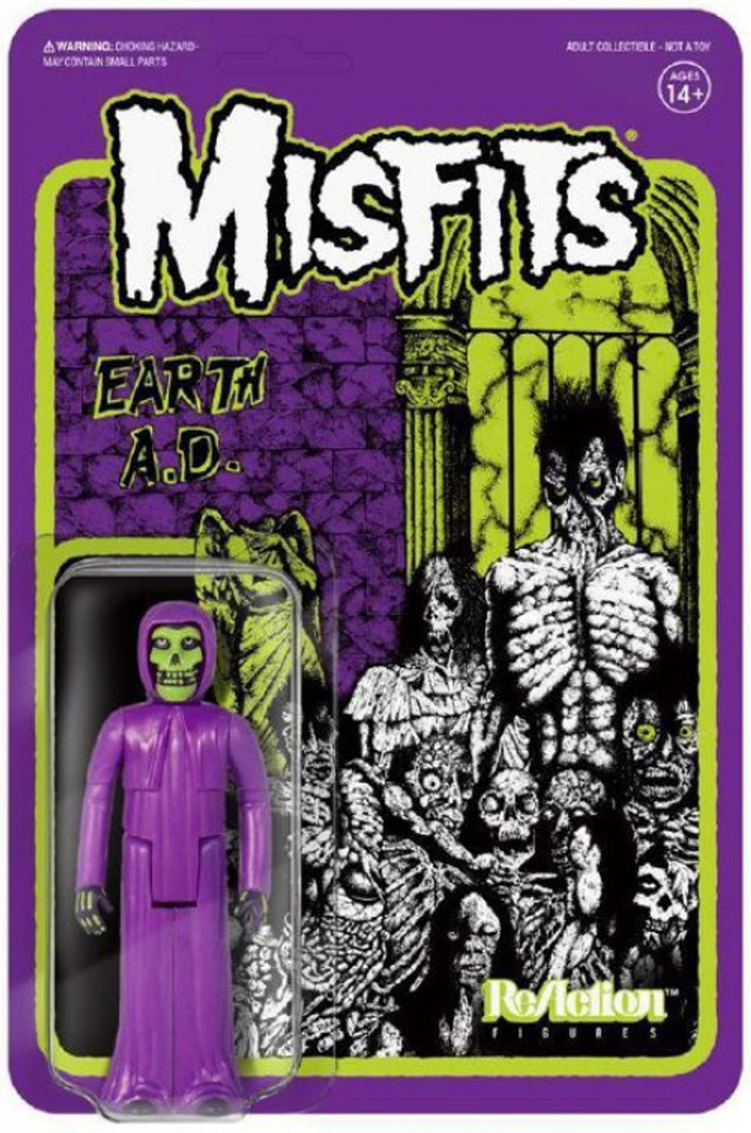 Misfits The Fiend Earth AD Action Figure Reaction Super7 NEW