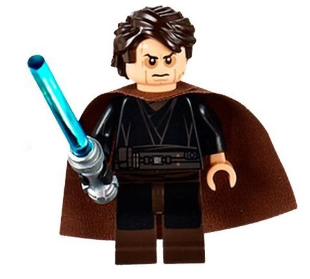 Lego Star Wars Episode 3 Anakin Skywalker Minifigure Sith Face Cape Loose Toywiz