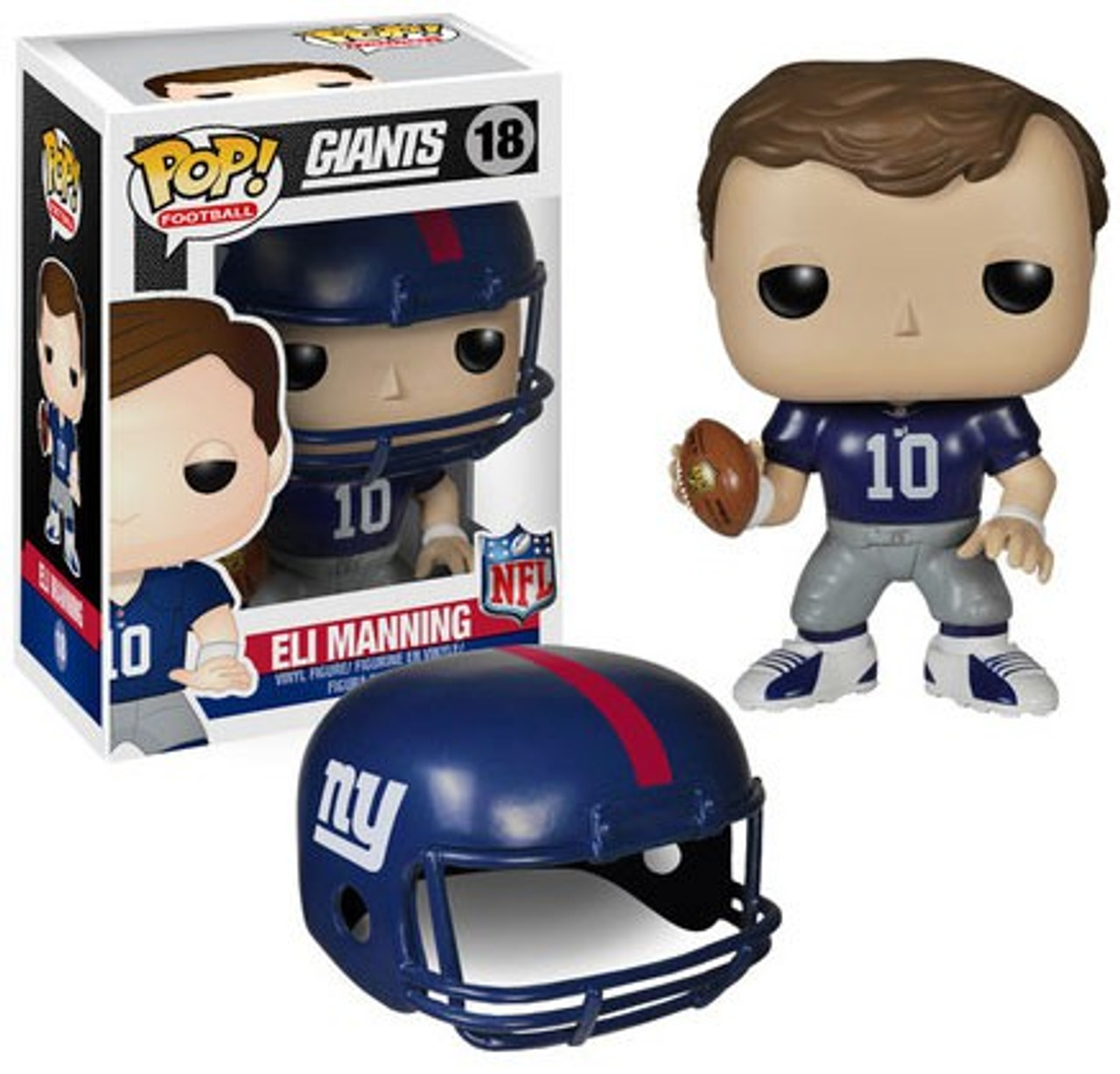 Funko NFL New York Giants Funko POP Sports Eli Manning Vinyl Figure 18  Damaged Package - ToyWiz 86fbd556e