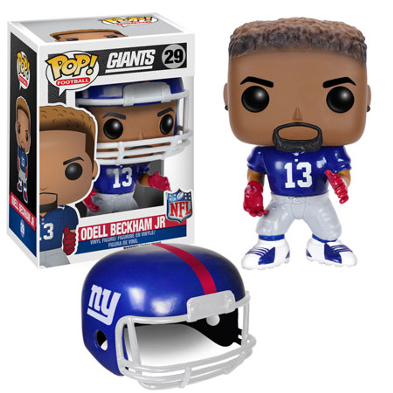 sports shoes 02ff2 62db8 Funko NFL New York Giants Funko POP Sports Odell Beckham Jr ...
