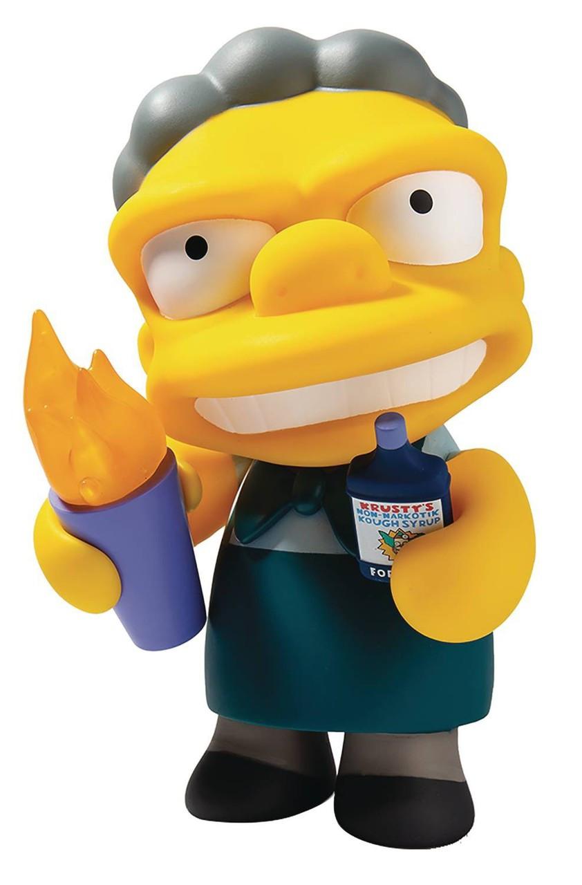 New Bartender Moe kidrobot Simpsons Vinyl Keychain Series