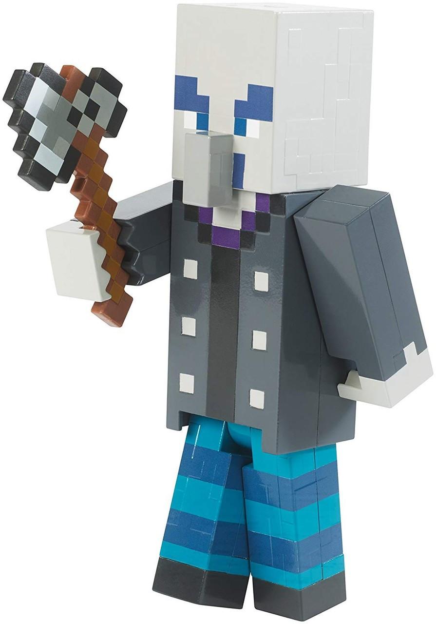 Minecraft Vindicator 10 Action Figure Mattel Toys - ToyWiz