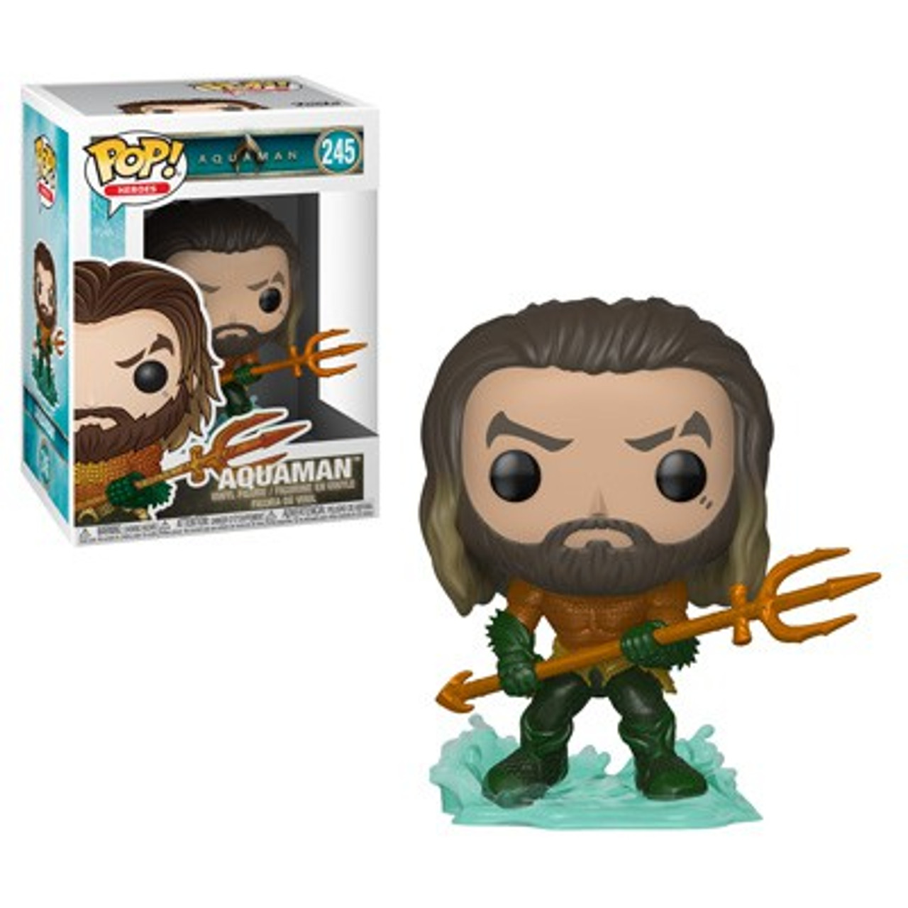 Vinyl DC Aquaman Arthur Curry as Gladiator #244 Collectable Figure Funko Pop