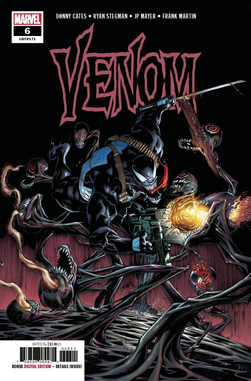 Marvel Venom #6 Comic Book