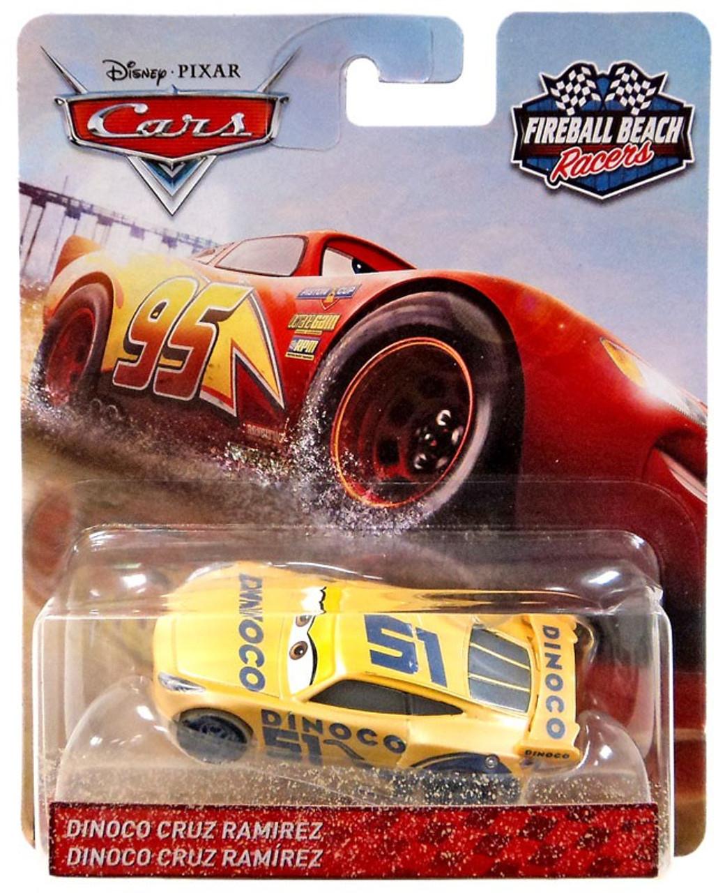 Disney Pixar Cars Cars 3 Fireball Beach Racers Dinoco Cruz Ramirez
