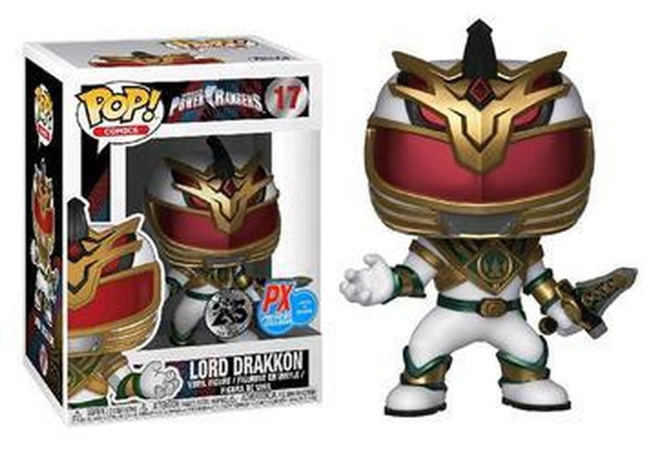Power Rangers Funko POP! TV Lord Drakkon Exclusive Vinyl Figure #17