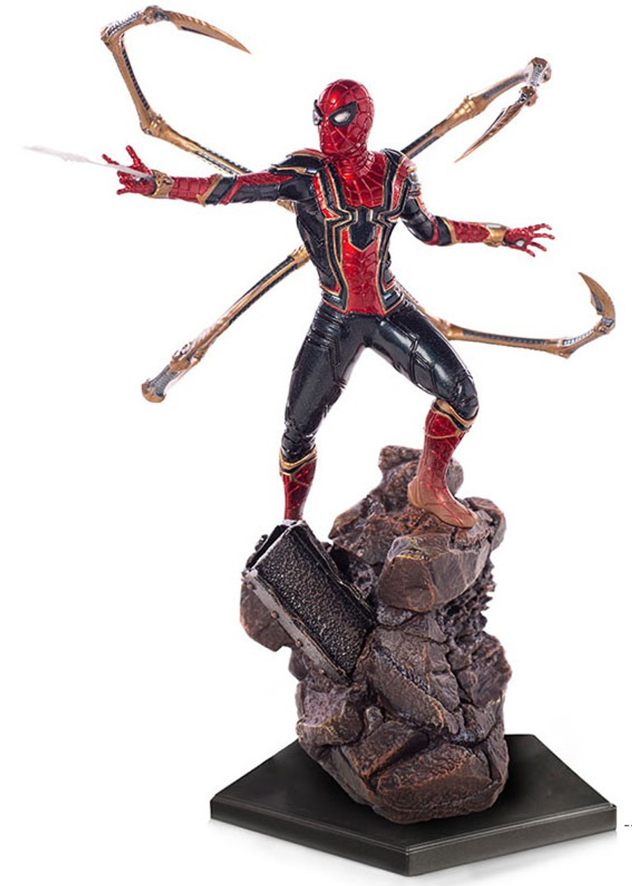 """Marvel Infinity War Avengers Iron Spider Spiderman w// Tentacles 6/"""" Action Figure"""