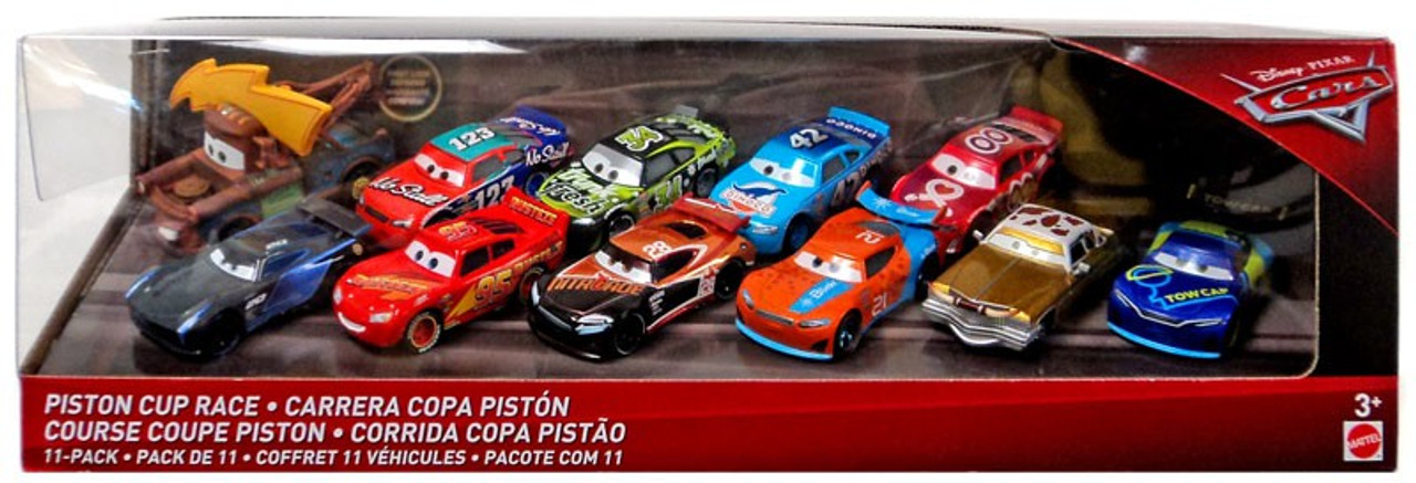 Disney Pixar Cars 2020 3 Pack Metal Mini Racers Piston Cup Rivalries Series