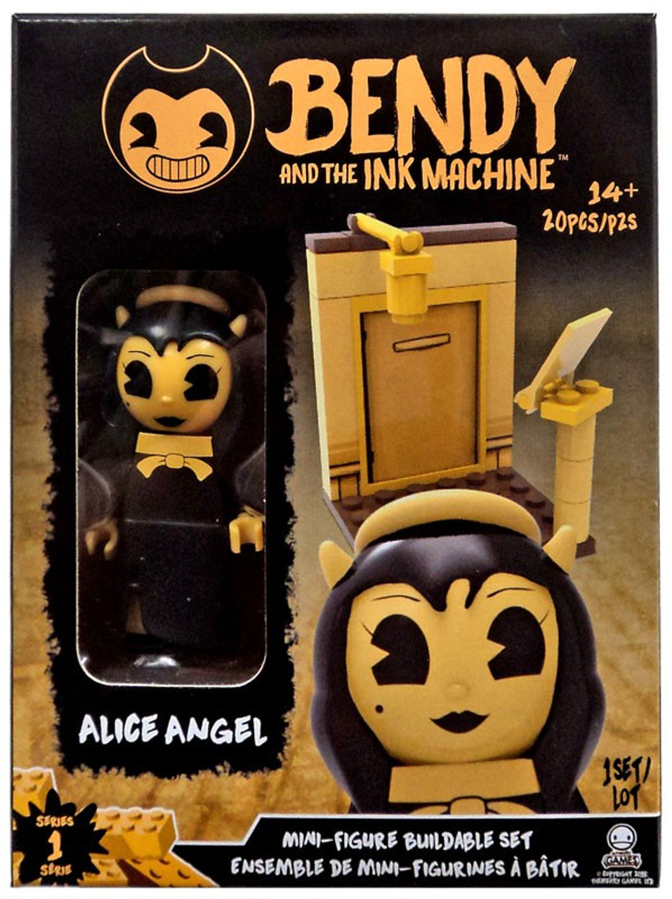 Bendy and the Ink Machine C3 Construction The Wolf Buildable Figure