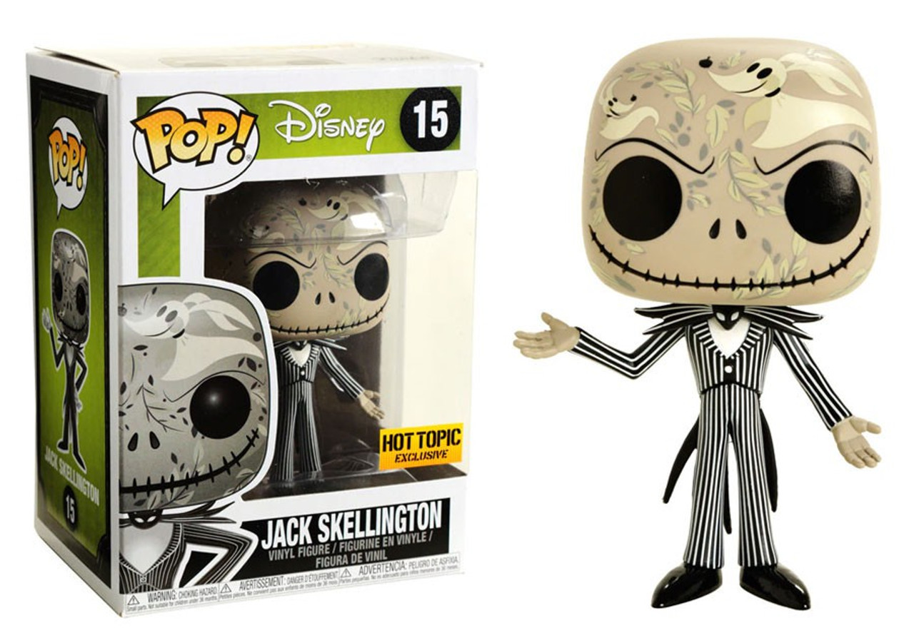 84fac7cd704 Funko Nightmare Before Christmas Funko POP Disney Jack Skellington  Exclusive Vinyl Figure 15 Zero Print - ToyWiz