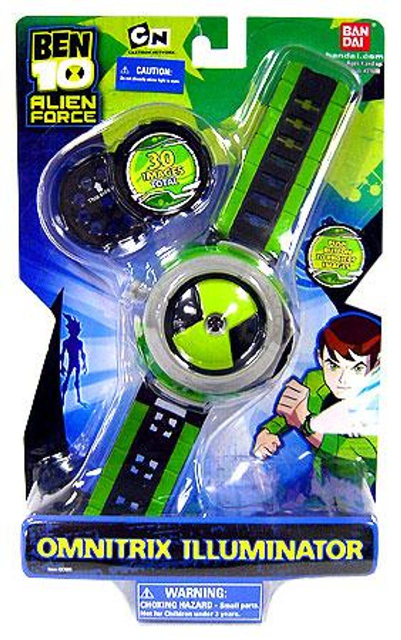 Ben 10 Alien Force Omnitrix Illuminator Watch Bandai America Toywiz