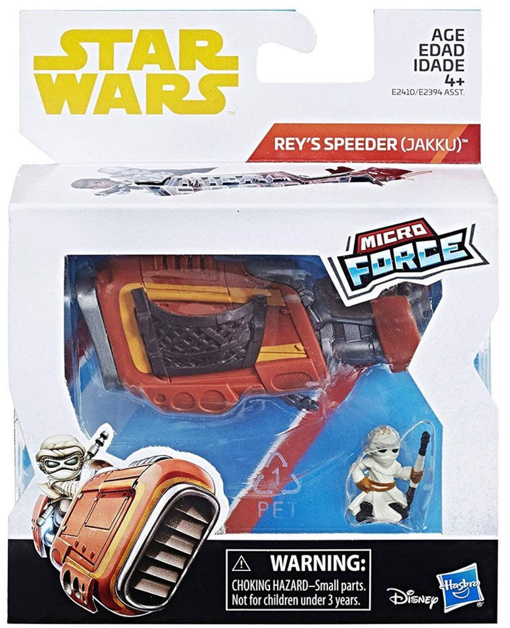 Disney Star Wars ATAT With Commander Micro Force Toy Figure Playset NEW Hasbro