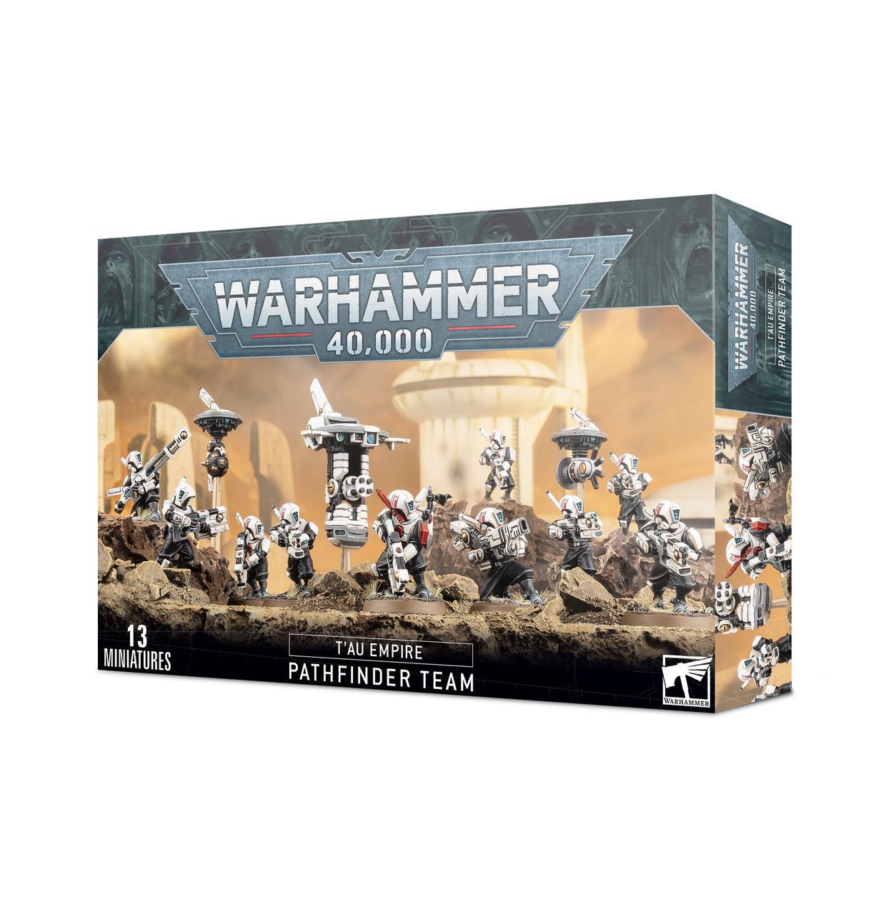 Warhammer 40,000 Tau Empire Pathfinder Team Tau Empire