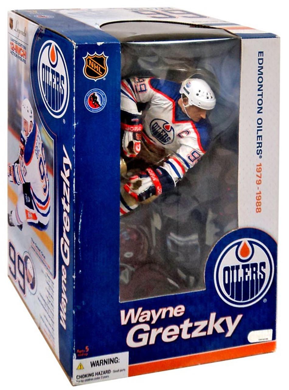 McFarlane Toys NHL Edmonton Oilers Sports Picks Deluxe Wayne Gretzky 12 Action  Figure - ToyWiz ebf5ef8f3