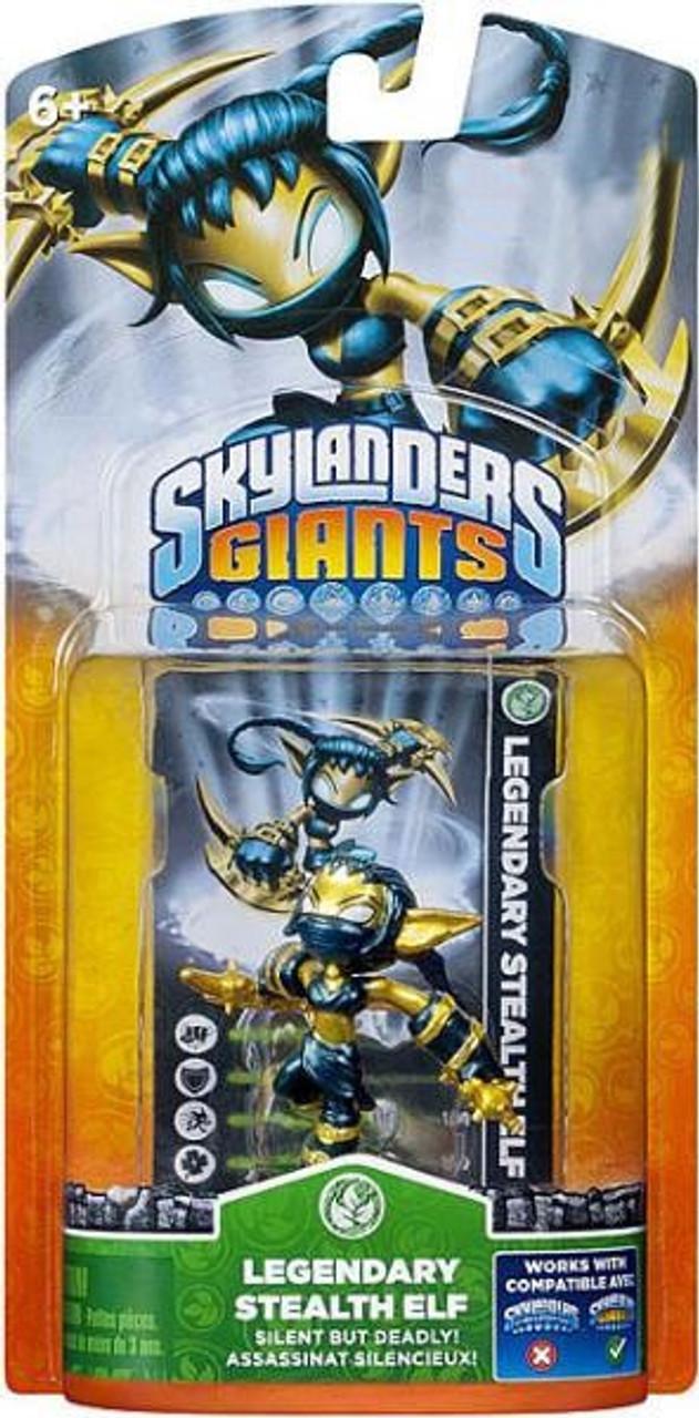 Skylanders Giants Legendary Stealth Elf Figure Pack [Damaged Package]