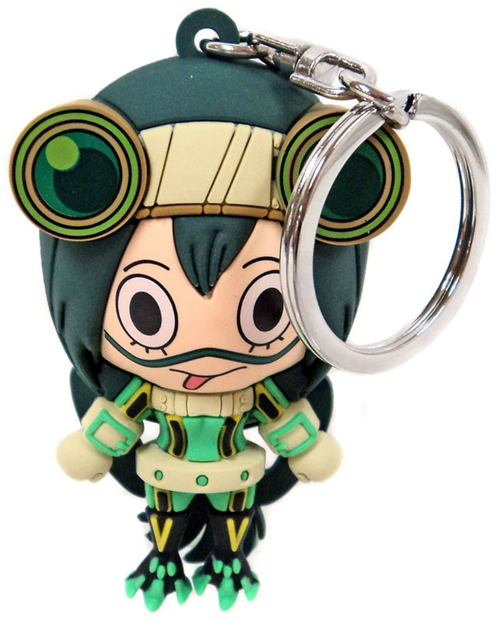 BANDAI My Hero Academia Tsuyu Asui 5cm mini key chain key ring Shonen Jump 255