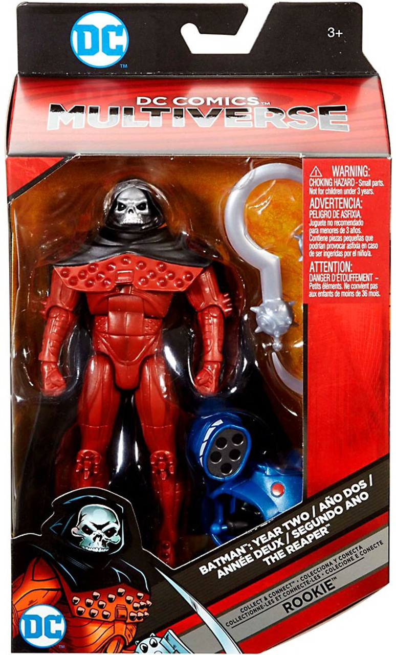 DC Batman Year Two Multiverse Rookie Series Reaper Action Figure [Damaged  Package]