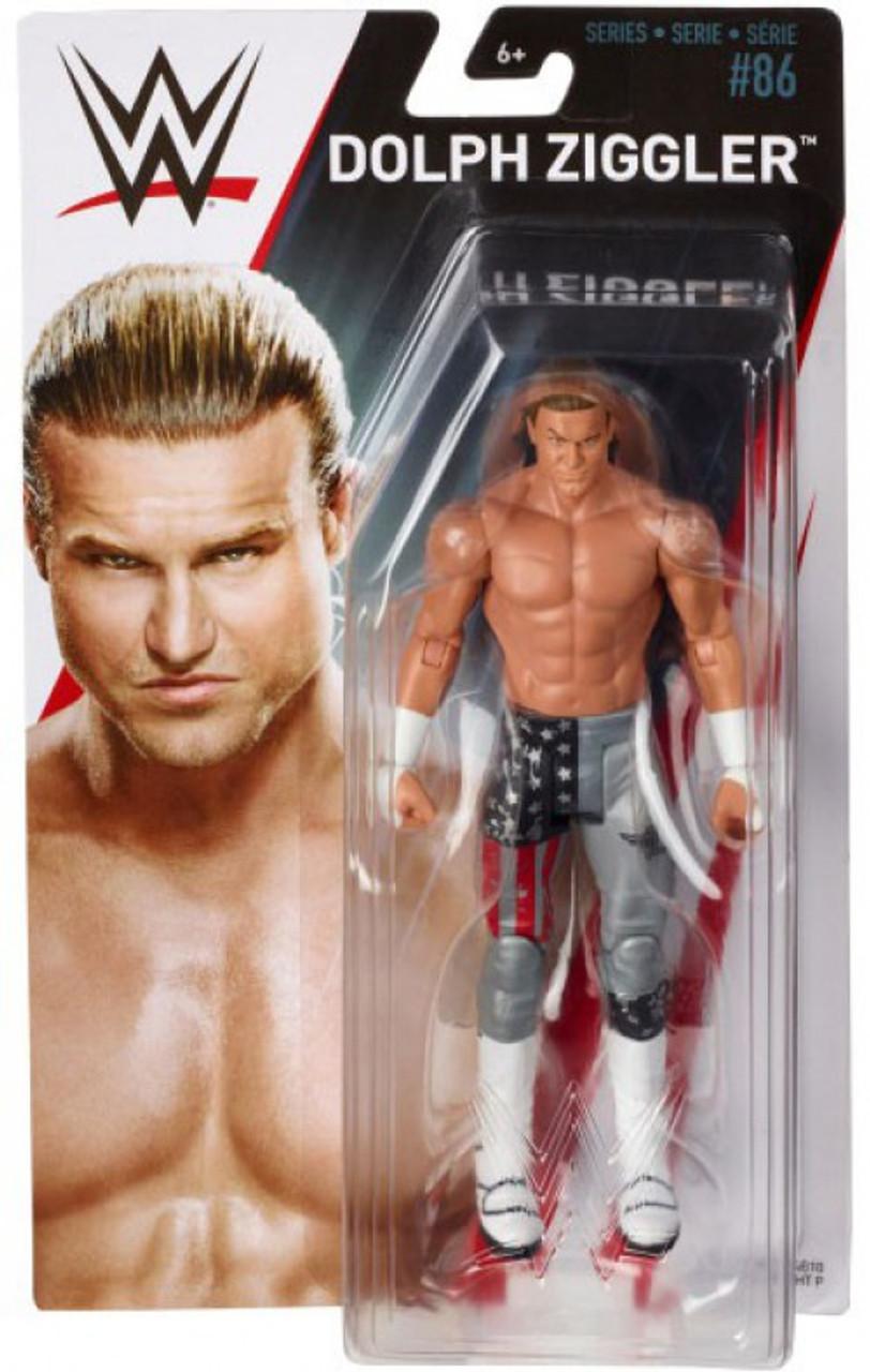 WWE DOLPH ZIGGLER ACTION FIGURE SUPERSTAR #37 *NEW*