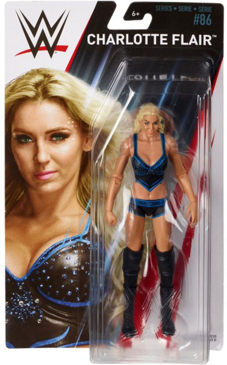 """WWE Charlotte Flair WW Superstar Series Wrestling Action Figure 12/"""" Doll New"""
