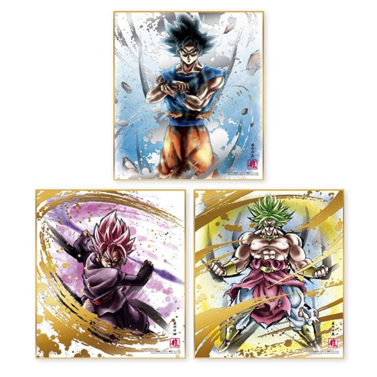 BANDAI Dragon Ball Z Super Shikishi ART 7 All 16 type complete set From JAPAN