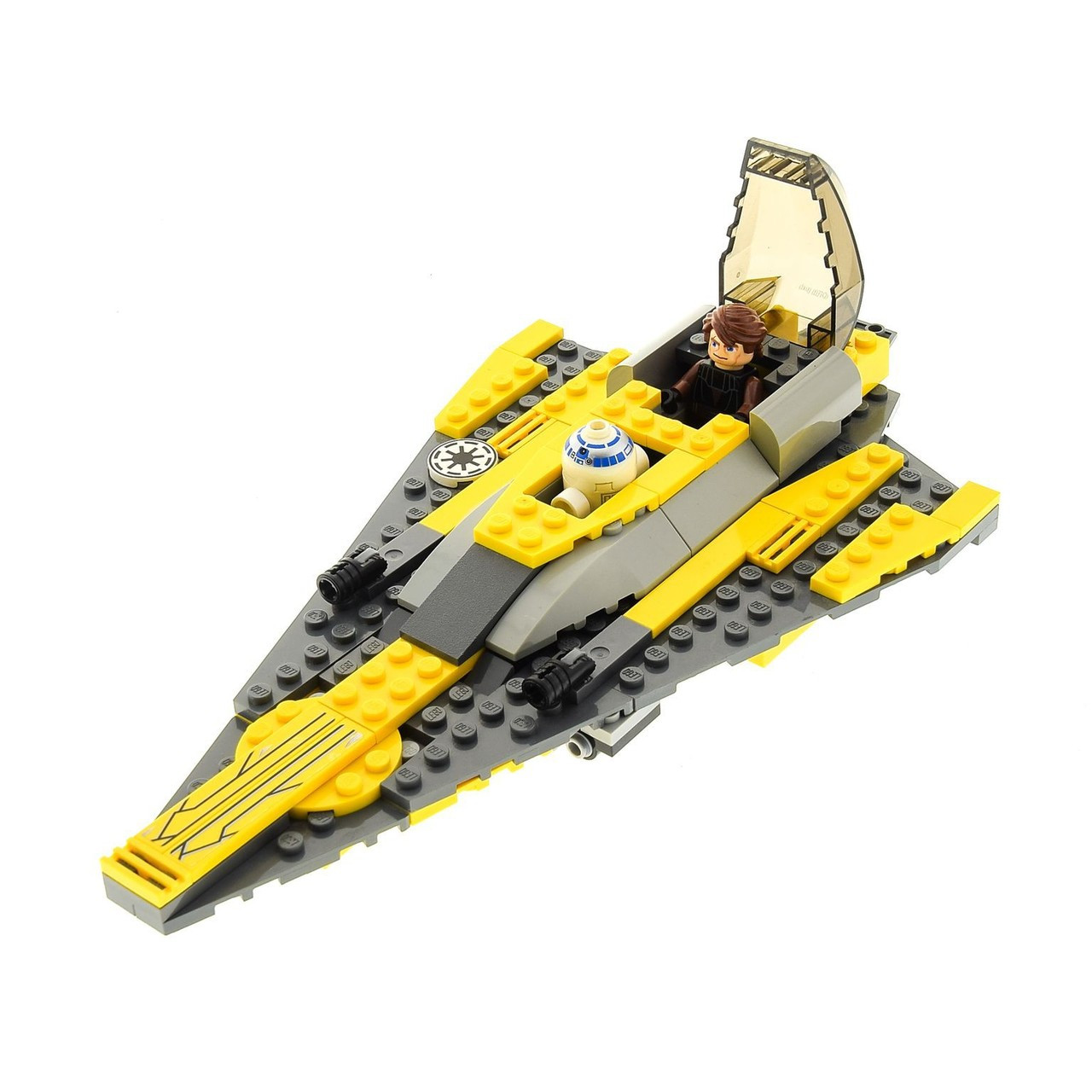 LEGO Star Wars Clone Wars Anakin's Jedi Starfighter Loose Vehicle [Without  Minifigures Loose]