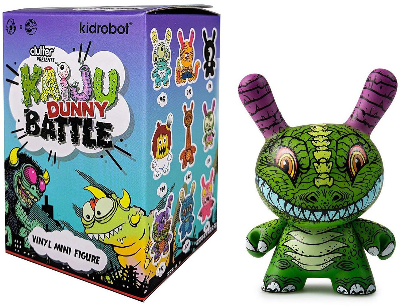 IN STOCK Kidrobot x Clutter Kaiju Dunny Battle Blind Box Mini Series