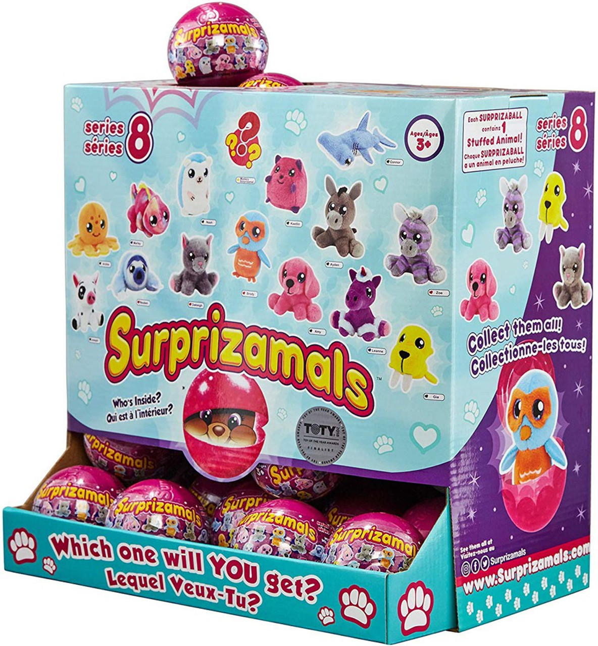 Surprizamals Series 8 Mystery Box [36 Packs]