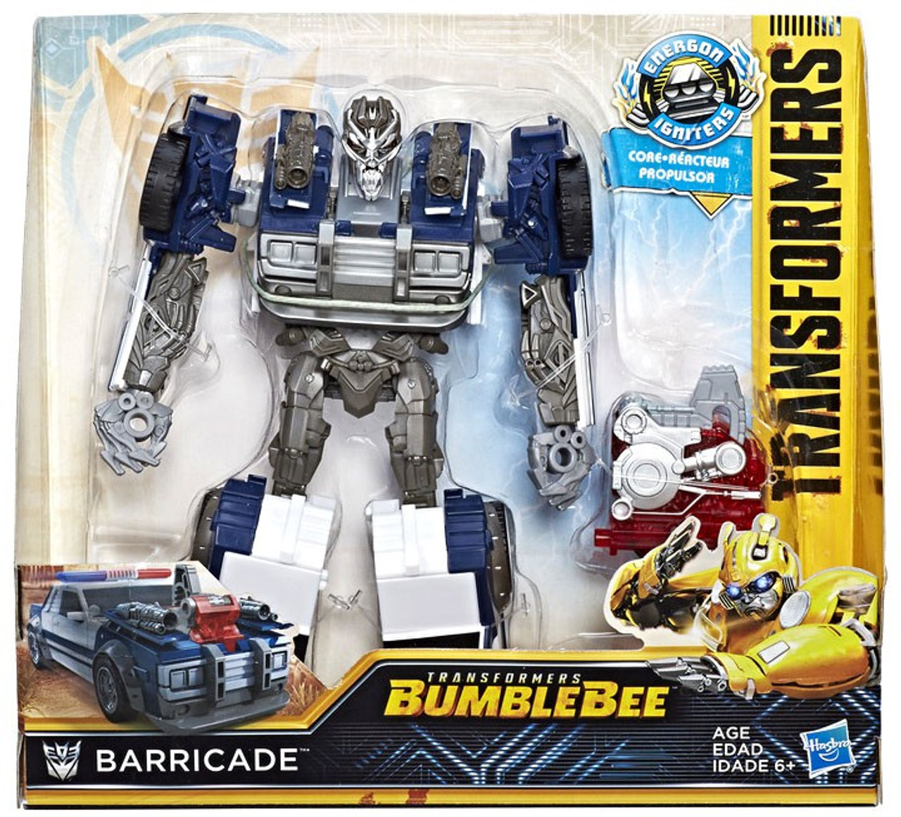 Transformers Bumblebee Movie Energon Igniters Nitro Barricade Action