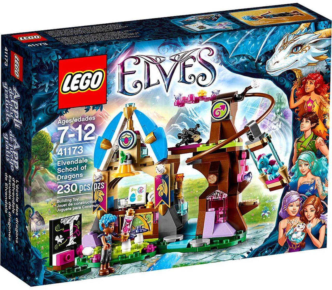 Fin LEGO Elves Elvendale School of Dragons Set 41173 Damaged Package KZ-51