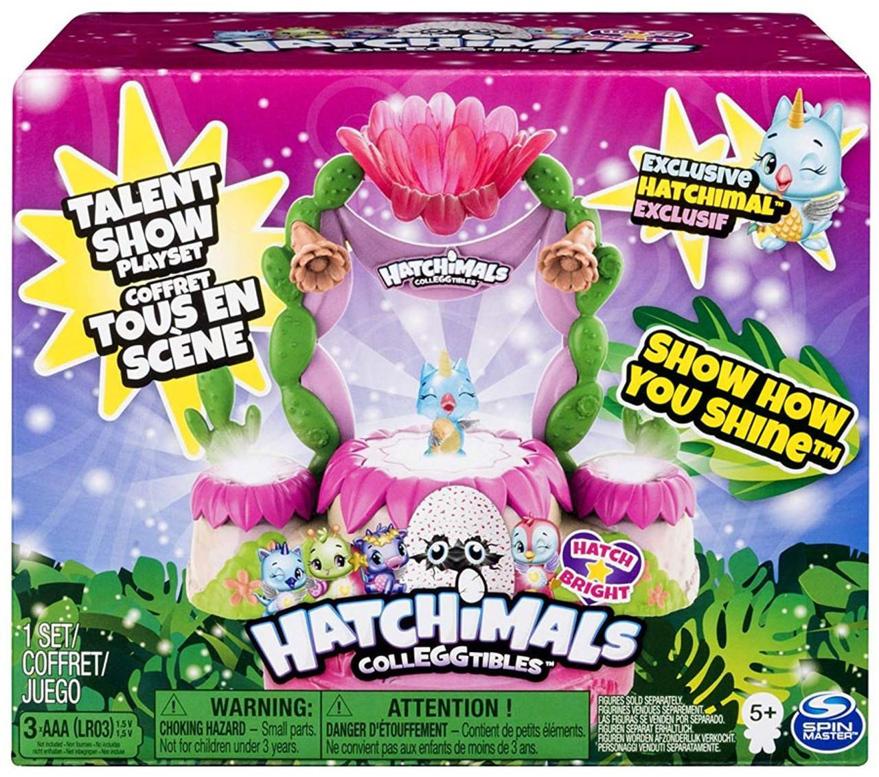 Multi Hatchimals 6044155 colleggtibles Scintillante Sands Talent Show Playset