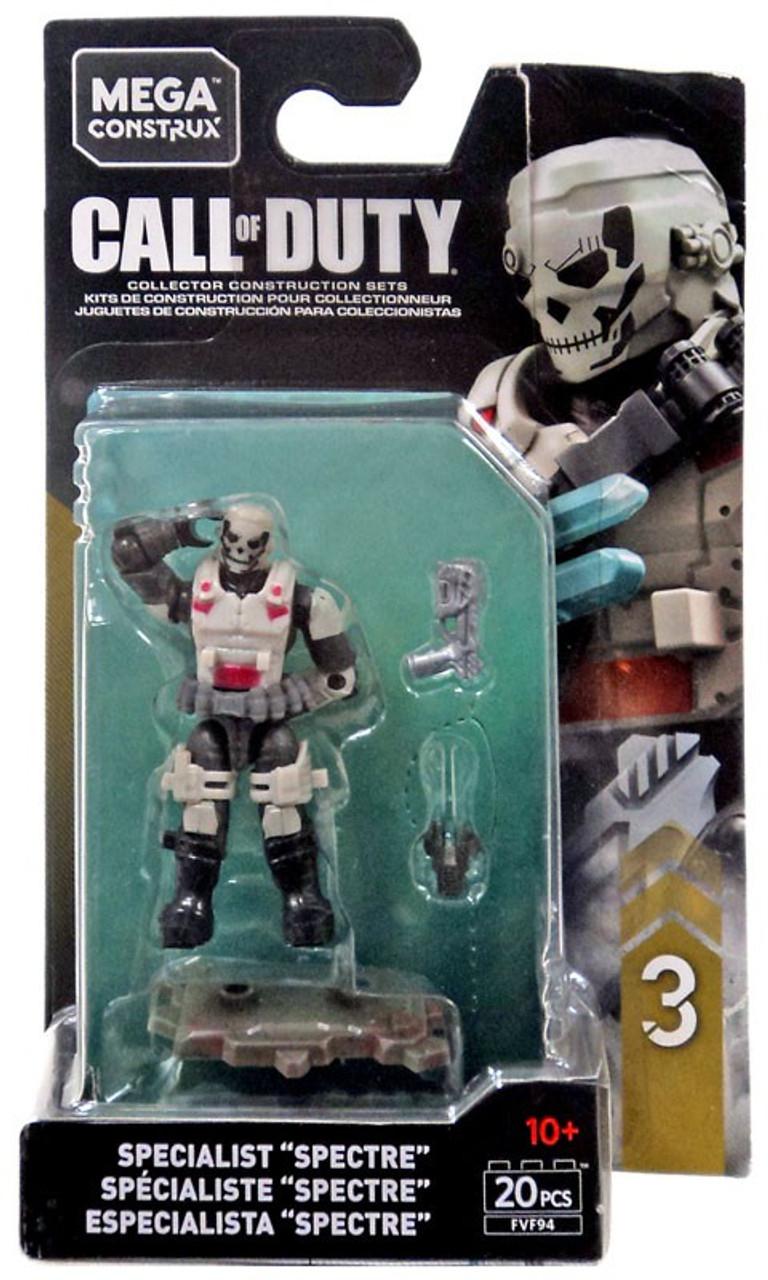 Call Of Duty Specialists Series 3 Specialist Spectre Mini Figure Mega Construx Toywiz