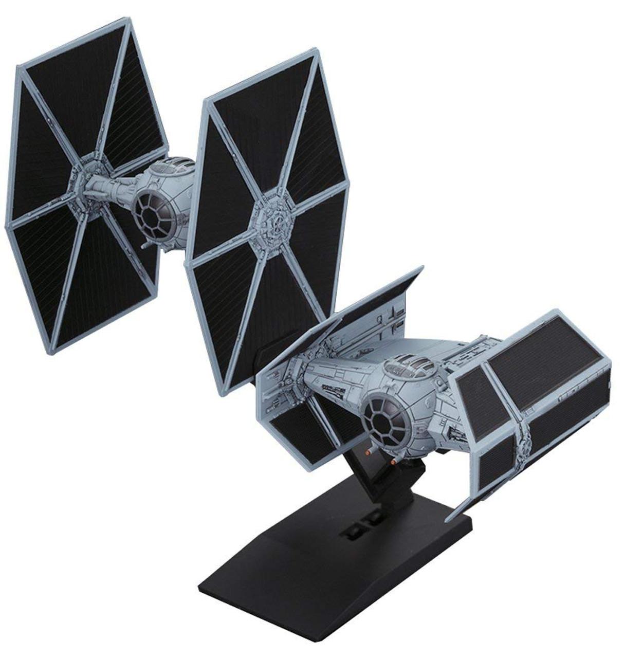 Star Wars Tie Advanced &Tie Fighter Set 1/144 Model Kit