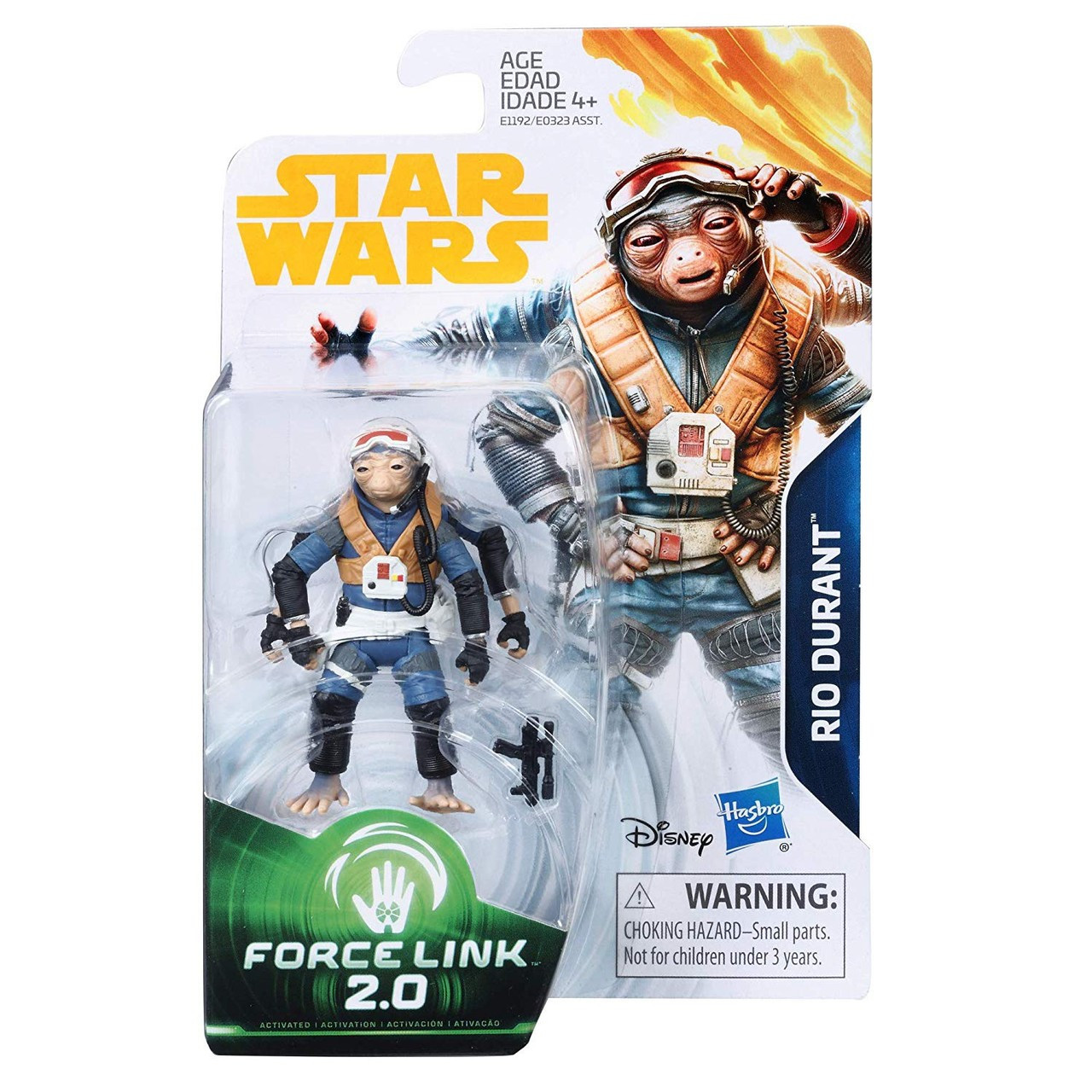 K-2SO Star Wars Solo Force Link 3 3//4-Inch Action Figures Wave 1