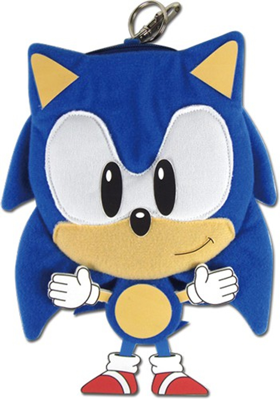 Sonic The Hedgehog Sonic The Hedgehog 7 Plush Coin Purse Ge Animation Toywiz