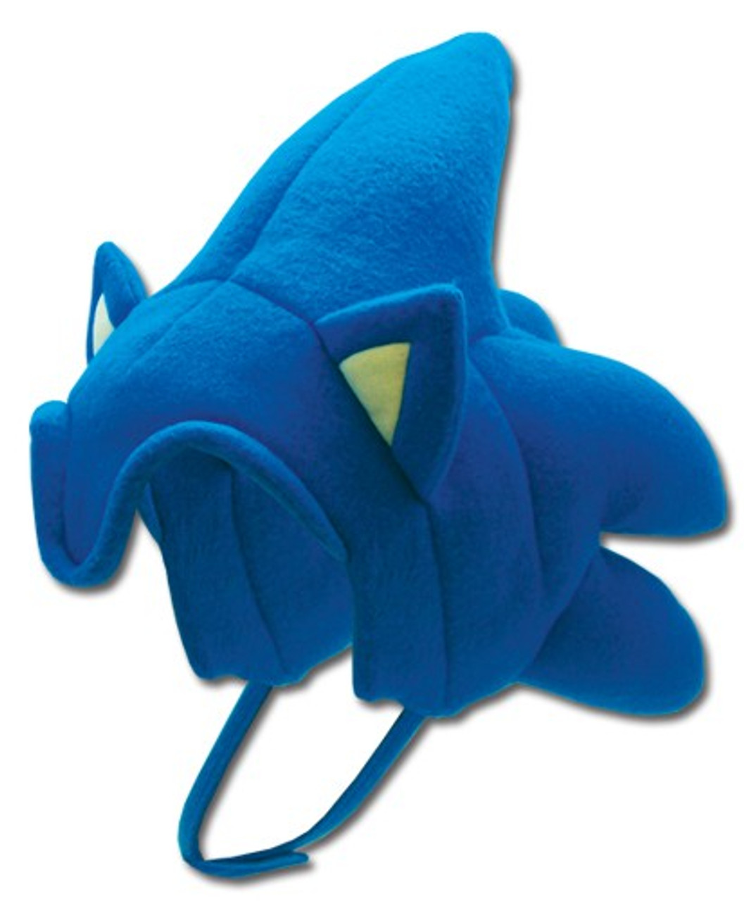 Sonic The Hedgehog Sonic The Hedgehog Fleece Cap Partial Face Ge Animation Toywiz