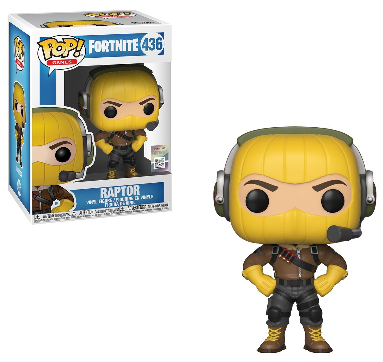 Standard Fortnite Highrise Assault Trooper VInyl Figure 431 Funko Pop