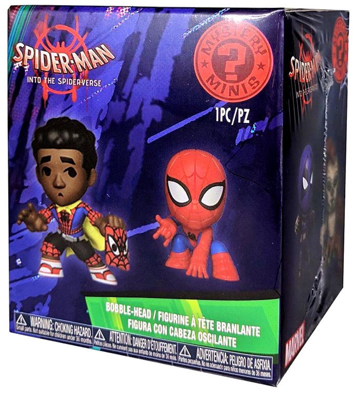 Funko Mystery Minis Marvel Spiderman en spiderverse Miles Morales
