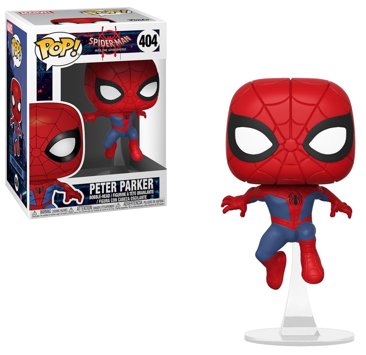 Spider-Man Noir Figure Funko Pop No 406 Animated Spider-Man