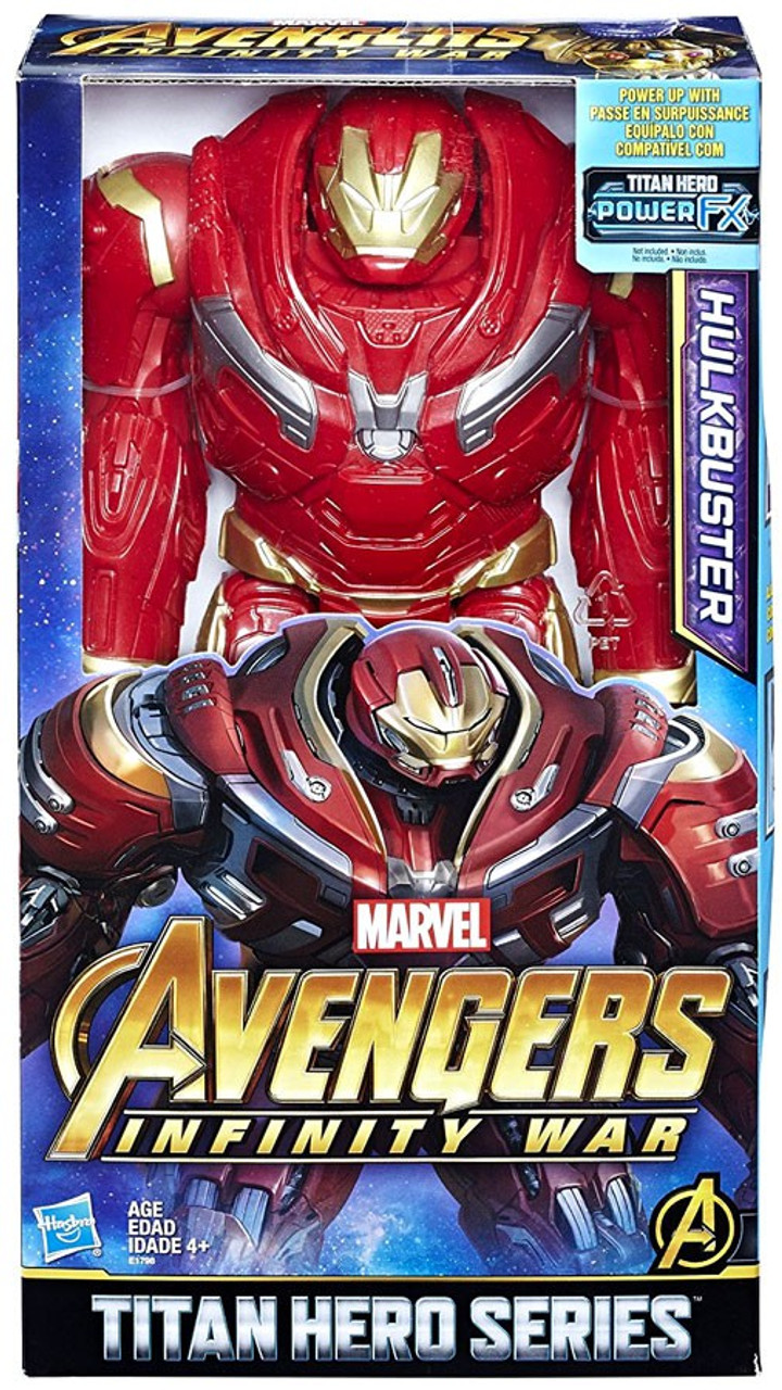 Marvel Avengers Infinity War Iron Man 12-Inch Titan Hero Series Action Figure