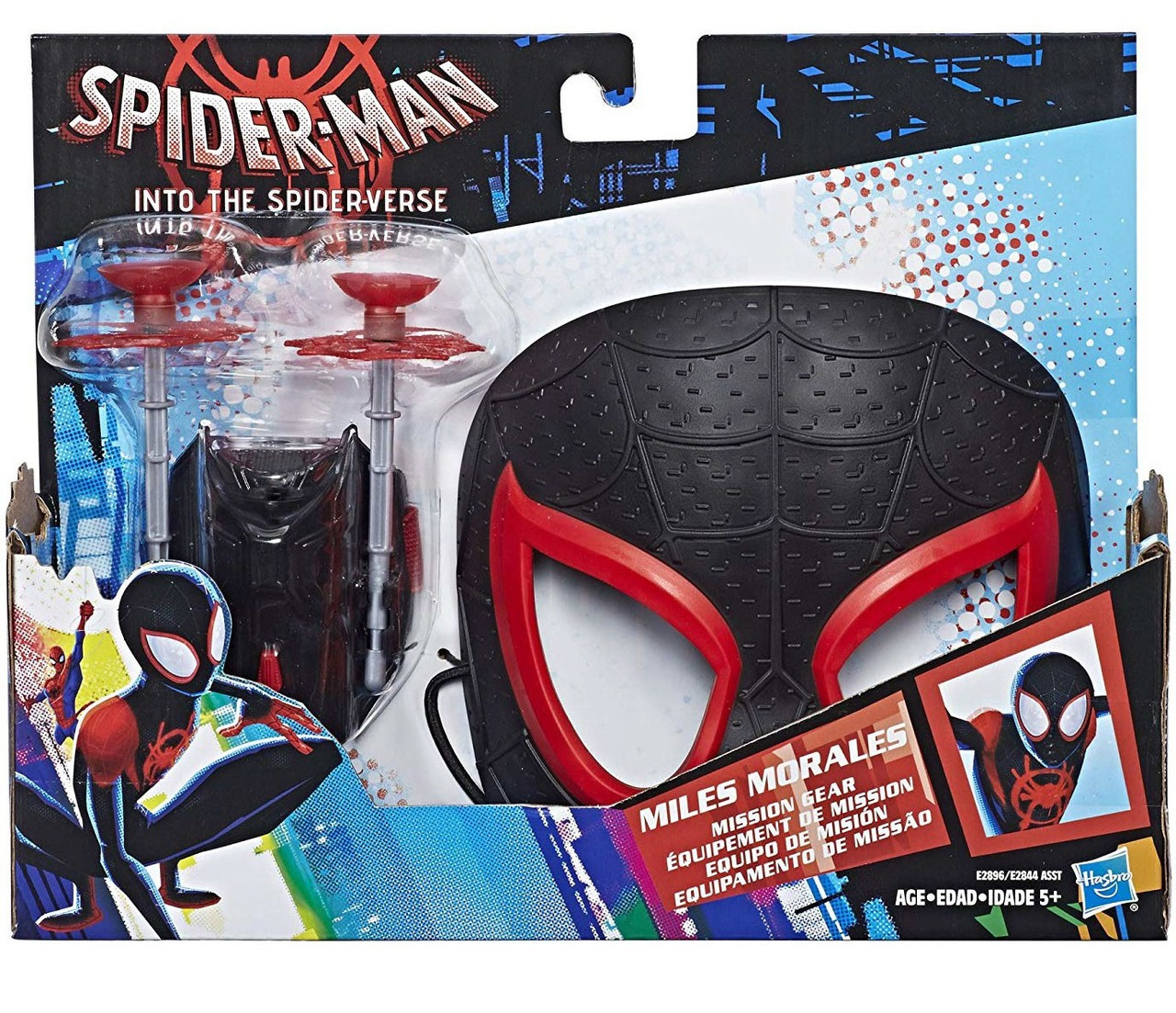 Marvel Spider-Man Into the Spider-Verse Miles Morales Mission Gear