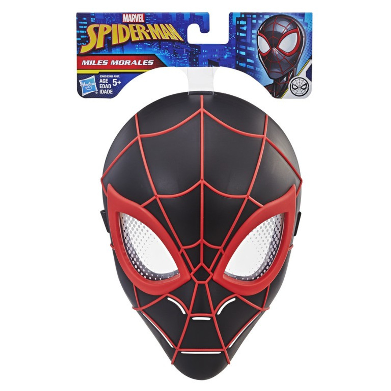 9674fe91536 Marvel Spider-Man Into the Spider-Verse Miles Morales Hero Mask Hasbro Toys  - ToyWiz